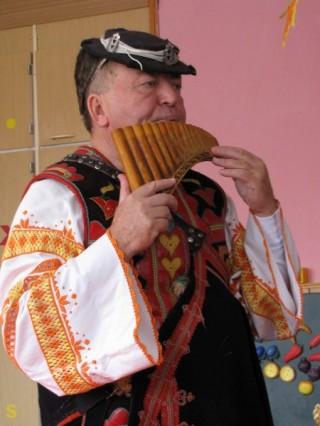 Hudobník a zberateľ ľudových piesní Anton Budinský